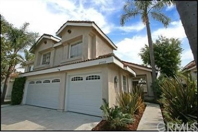 Laguna Niguel Single Family Home Active Under Contract: 25022 Rancho Clemente