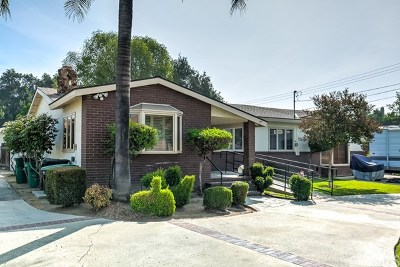 Covina Multi Family Home For Sale: 4528 N Sunflower Avenue