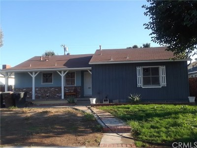 Anaheim Single Family Home For Sale: 1624 E Cedar Street