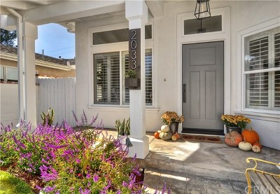 Single Family Home For Sale: 2033 Irvine Avenue