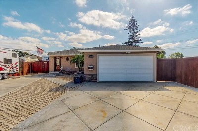 Midway City Single Family Home For Sale: 7824 Ledon Way