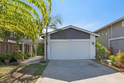 Dana Point Single Family Home For Sale: 26412 Via California