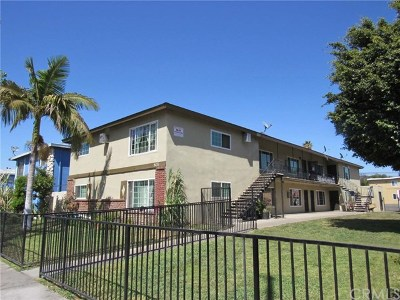 Santa Ana Multi Family Home For Sale: 805 S Townsend Street