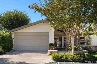 Irvine Single Family Home For Sale: 19175 Sierra Maria Road