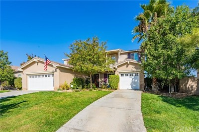 Corona Single Family Home For Sale: 1665 Camino Largo Street