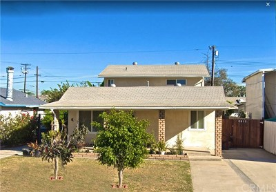 Buena Park Single Family Home For Sale: 6012 Darlington Avenue