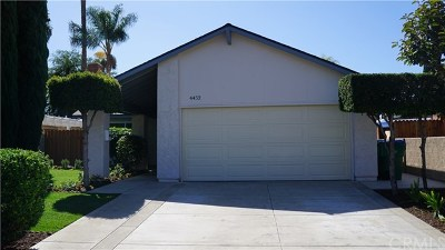 Irvine Single Family Home For Sale: 4452 Cheviot Drive