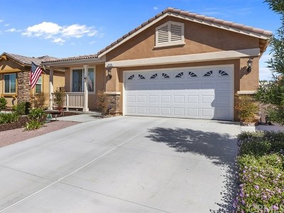 Menifee Single Family Home For Sale: 30354 Silicate Drive