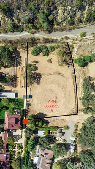 Modjeska Canyon, Silverado Canyon Residential Lots & Land For Sale: 28052 Dalmation St.