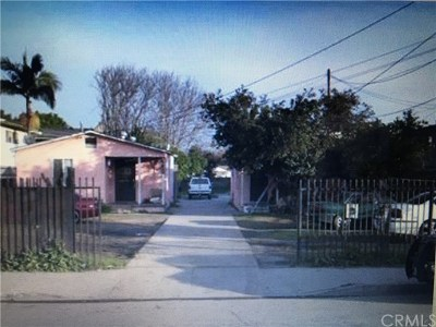 Compton Multi Family Home Active Under Contract: 1941 E El Segundo Boulevard