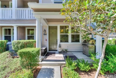Ladera Ranch Condo/Townhouse For Sale: 104 Hinterland Way
