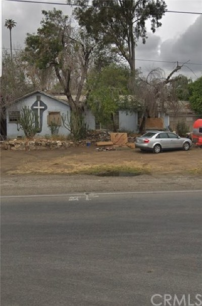 Bloomington Single Family Home For Sale: 19716 Agua Mansa Street
