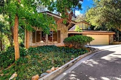 La Canada Flintridge Single Family Home For Sale: 438 Somerset Place