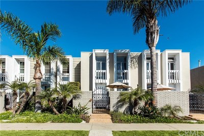 Huntington Beach Condo/Townhouse For Sale: 4013 Warner Avenue