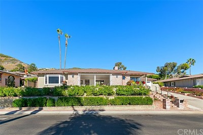 Laguna Beach Single Family Home For Sale: 9 S Vista De Catalina