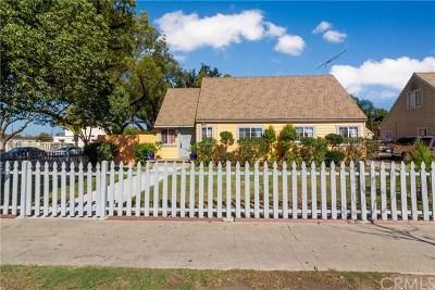 Santa Ana Single Family Home For Sale: 1503 E 4th Street