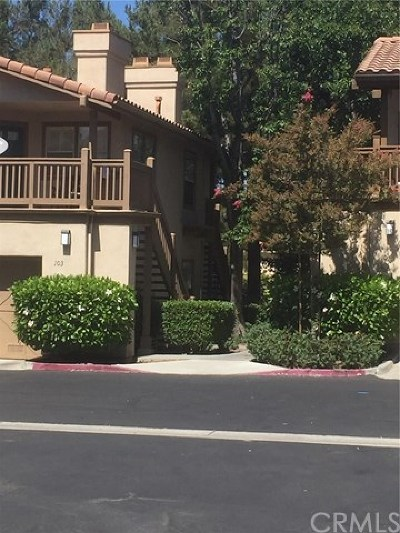 Rancho Santa Margarita Condo/Townhouse For Sale: 103 Timbre