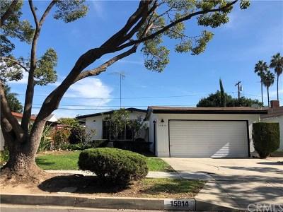 Single Family Home For Sale: 15914 Atkinson Avenue