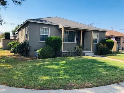 Norwalk Single Family Home For Sale: 12139 Roseton Avenue