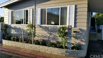 Newport Beach Mobile Home For Sale: 249 Mayflower Dr