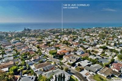 San Clemente Single Family Home For Sale: 146 W Avenida Cornelio