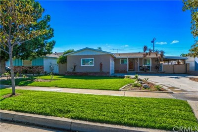 Fullerton Single Family Home For Sale: 1624 W Woodcrest Avenue