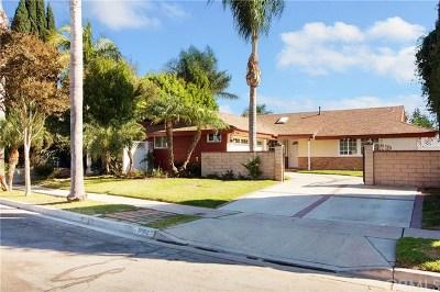 Fountain Valley Single Family Home For Sale: 18660 Cedar Circle