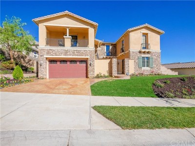 Corona Single Family Home For Sale: 8044 Soft Winds Drive