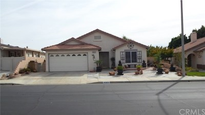 Cherry Valley Single Family Home For Sale: 40853 Caballero Drive