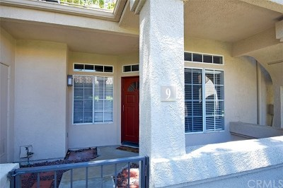 Rancho Santa Margarita Condo/Townhouse For Sale: 9 Castano