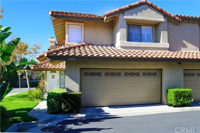 Fountain Valley Condo/Townhouse For Sale: 18269 Peters Court