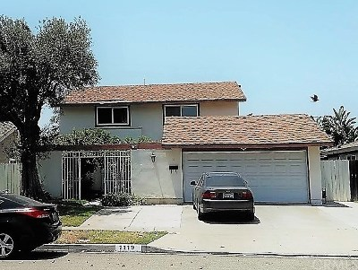 Anaheim Single Family Home For Sale: 1119 S Clarence