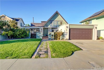 Costa Mesa Single Family Home Active Under Contract: 530 Sturgeon Drive