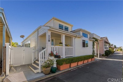 Newport Beach Mobile Home For Sale: 119 Yorktown