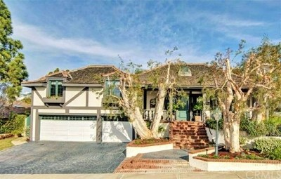 Newport Beach Single Family Home For Sale: 18 Narbonne