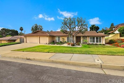 Glendora Single Family Home For Sale: 955 N Entrada Way