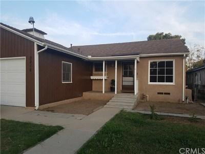 Long Beach Single Family Home For Sale: 3218 Del Mar Avenue