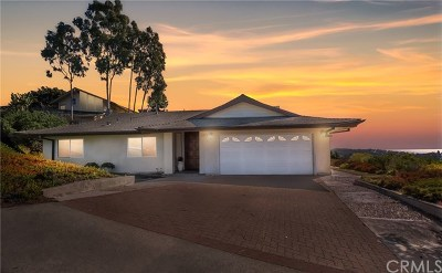 Laguna Beach Single Family Home For Sale: 2615 Temple Hills Drive