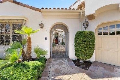 Dana Point Single Family Home For Sale: 5 Castillo Del Mar