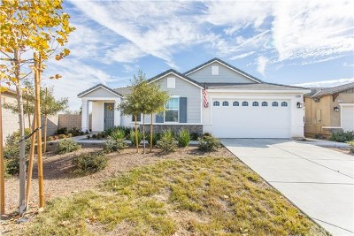 Menifee Single Family Home For Sale: 31986 Eaton Lane
