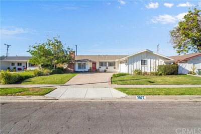 Costa Mesa Single Family Home For Sale: 3077 Ceylon Road