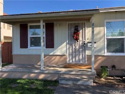 Anaheim Single Family Home For Sale: 818 S Harbor Boulevard