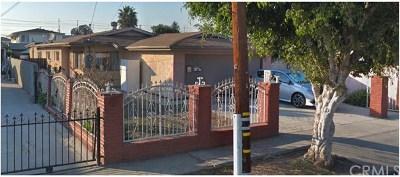 Inglewood Single Family Home For Sale: 10925 Dalerose Avenue