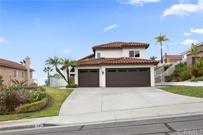 Laguna Niguel Single Family Home For Sale: 15 Knob Hl