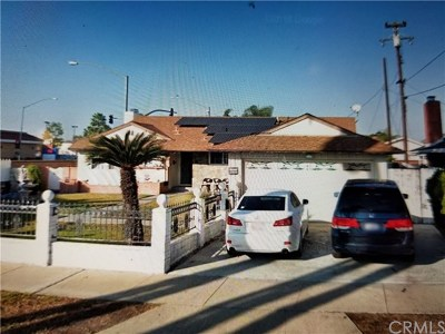 Anaheim Single Family Home For Sale: 149 S Paradise Lane