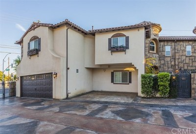 Santa Ana Condo/Townhouse For Sale: 628 S Newhope Street #1
