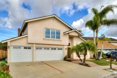 Dana Point Single Family Home For Sale: 24701 Benjamin Circle