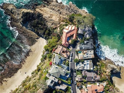 Laguna Beach Single Family Home For Sale: 107 S La Senda Drive