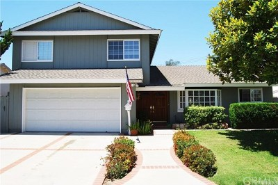 Huntington Beach Single Family Home For Sale: 16731 Summercloud Lane