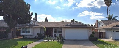 Brea Single Family Home Active Under Contract: 3338 Greenleaf Drive
